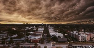 storm over fernandina