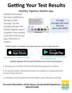 Mobile App Covid Results