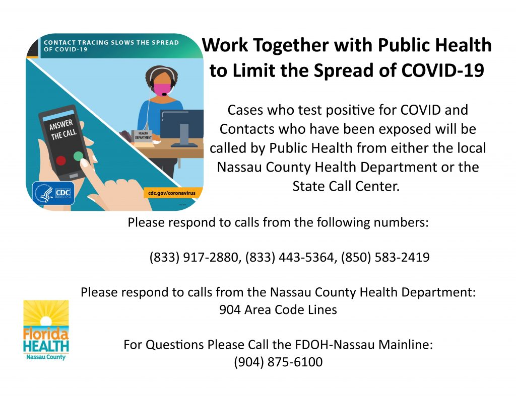 COVID call center