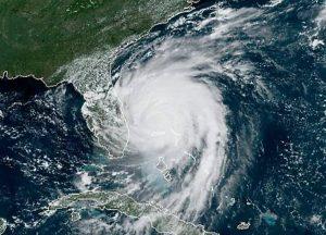 Hurricane Dorian NOAA satellite